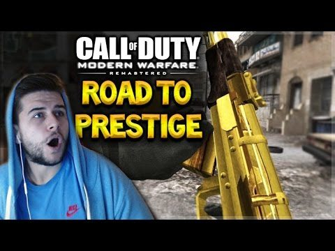 [LIVE NOW] – MODERN WARFARE REMASTERED   Road To Prestige 1 (First Experience)