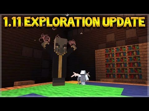 "Minecraft 1.11 Exploration Update – Let's ""EXPLORE"" (1.11 Survival)"