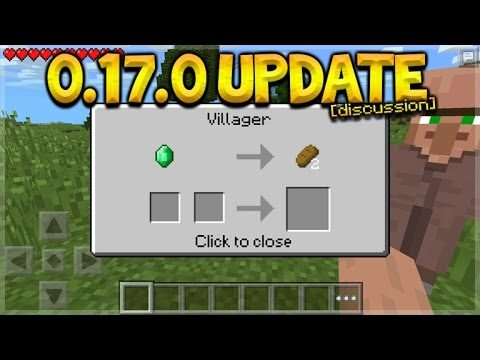 Minecraft Pocket Edition – 0.17.0 UPDATE Expected Features & Hidden 0.16.0 Files (Pocket Edition)