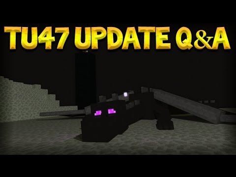 Minecraft Xbox 360 + PS3 – Title Update 47 Q&A Stopping Last Gen Update + NEW Tutorial World