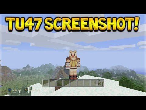 Minecraft Xbox 360 + PS3: TU47 First Preview – ELYTRA WINGS FIRST SCREENSHOT! (Console Edition)