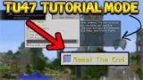 Minecraft Xbox 360 + PS3: TU47 UPDATE – NEW Tutorial Mode & Reset End