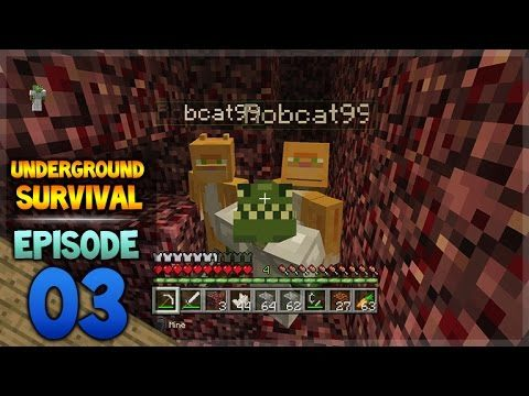 Minecraft Xbox – Underground Survival – To Another World Episode 3