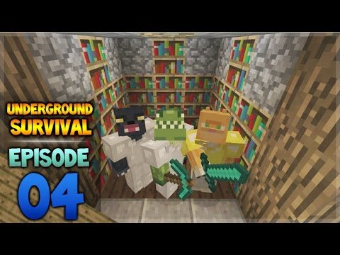 Minecraft Xbox – Underground Survival – Farming Zombies Episode 4