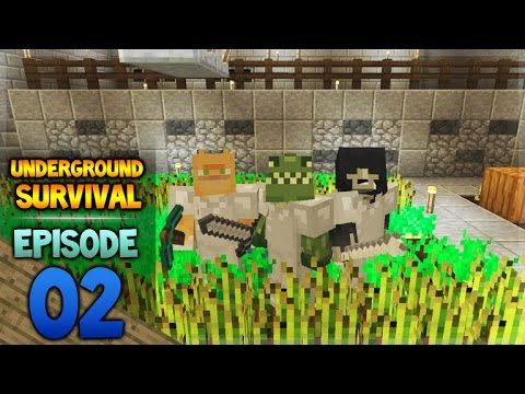 Minecraft Xbox – Underground Survival – The First Challenge Episode 2
