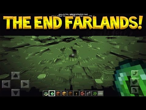 THE END FARLANDS!! Minecraft Pocket Edition – End Dimension Farlands Exploring (Pocket Edition)