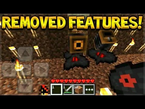 Top 5 Features Removed From Minecraft Pocket Edition Version