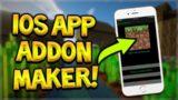 HOW TO CREATE ADDONS ON iOS DEVICE NO JAILBREAK OR PC NEEDED – Minecraft Pocket Edition