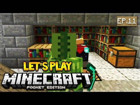 Let's Play Minecraft Pocket Edition 1.0 – New And Improved XP Farm Episode 11 (Pocket Edition)