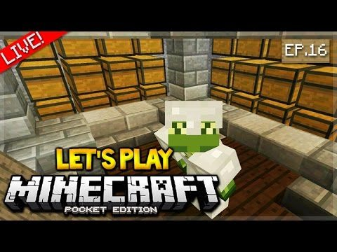 LIVE NOW – Let's Play Minecraft Pocket Edition 1.0 – interior designs Episode 16 (Pocket Edition)