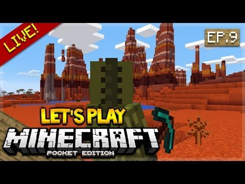 [LIVE NOW ] Let's Play Minecraft Pocket Edition 0.17.0 – Let's Adventure Episode 9 (Pocket Edition)