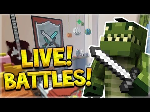 LIVE NOW – MINECRAFT CONSOLE BATTLE MINI-GAME W/ SUBSCRIBERS! (Console Edition)