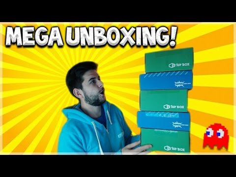 MEGA UNBOXING VIDEO! – 3 MONTH 1 UP BOX & 2 MONTH SUPERGEEK BOXES! (Mystery Boxes)