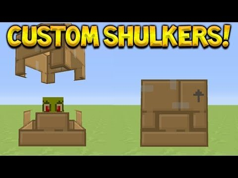 Minecraft Console Edition – All New Custom Shulker Mob Textures TU46