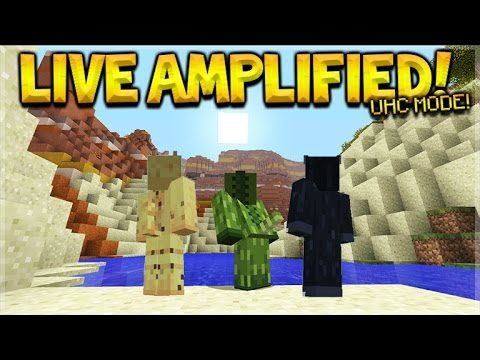 Minecraft Console Edition – LIVE Ultra Hardcore Amplified Survival W/ Stroonz & Robcat