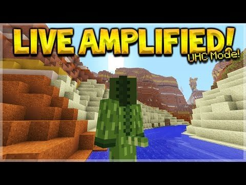 Minecraft Console Edition – LIVE Ultra Hardcore Amplified Survival