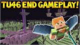 Minecraft Console Edition – NEW TU46 END + END CITY GAMEPLAY!