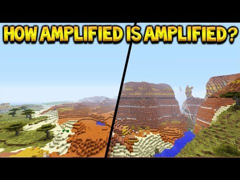 Minecraft XB1/PS4 – How Amplified Are Amplified World Types??