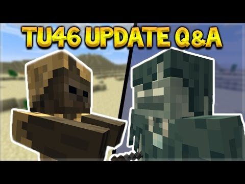 Minecraft Xbox 360/PS3 – Title Update 46 Q&A – Quiver Exclusives + NEW Mobs