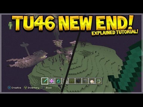 Minecraft Xbox 360/PS3 – Title Update 46 NEW End Worlds Detailed Tutorial Showcase