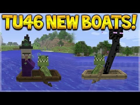 Minecraft Xbox 360/PS3 – Title Update 46 New Two Seated Boats Full tutorial