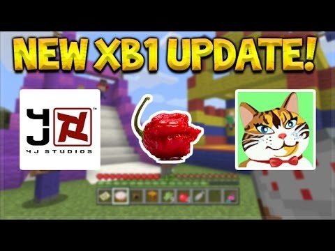 Minecraft Xbox One – NEW Update + 4jStudios Toycat Troll!
