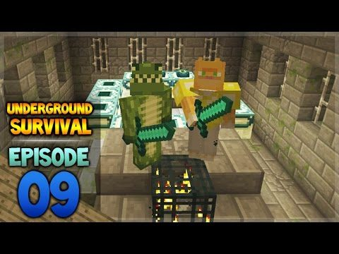 Minecraft Xbox – Underground Survival – A NETHER Adventure Episode 8