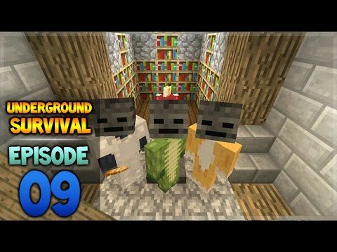 Minecraft Xbox – Underground Survival – EnderBob Hunting! Episode 9