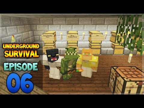 Minecraft Xbox – Underground Survival – Cave Cleanup Episode 6