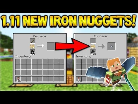 NEW IRON NUGGETS!! Minecraft 1.11.1 Update – Snapshot 16w50a – NEW Enchantments!