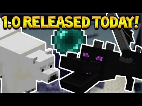 RELEASED TODAY!! Minecraft Pocket Edition – 1.0 Update RELEASED TODAY! (Pocket Edition)