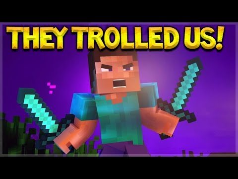 THEY TROLLLED US! MINECRAFT POCKET EDITION 1.0 BUILD 4 !!!!