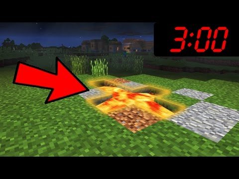 DO NOT Play Minecraft Pocket Edition At 3:00 AM!!!!