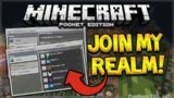 JOIN MY MCPE REALM!!! – Minecraft Pocket Edition 1.0.2 Realms JOIN MY REALM TODAY (MCPE)