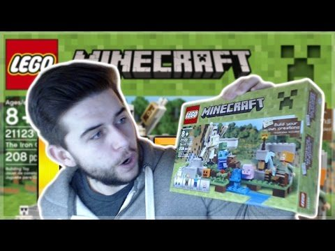 LEGO MINECRAFT – UNBOXING & BUILDING LEGO MINECRAFT SET TIMELAPSE!
