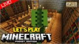 Let's Play Minecraft Pocket Edition 1.0 – Stronghold Hunt! Episode 18 (Pocket Edition)