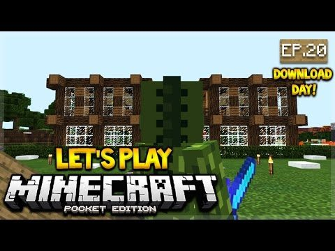 [LIVE NOW] Let's Play Minecraft Pocket Edition 1.0 – DOWNLOAD Day Episode 20 (Pocket Edition)