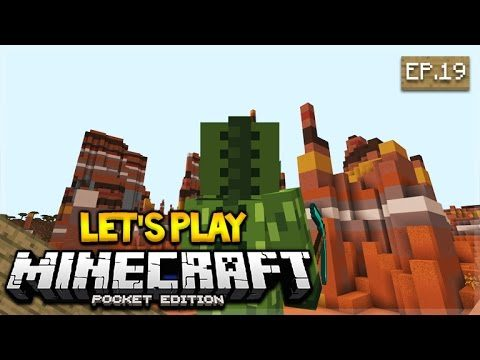 [LIVE NOW] Let's Play Minecraft Pocket Edition 1.0 – The Gold Rush! 19 (Pocket Edition)