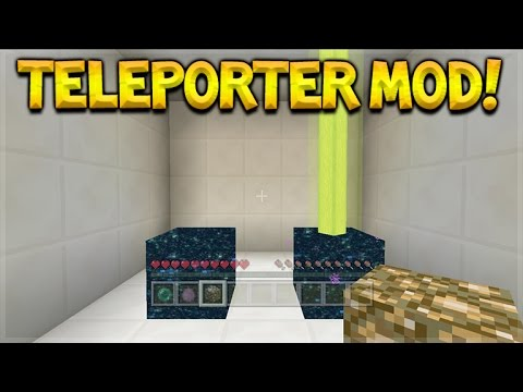 Minecraft Console Edition – NEW Teleporter Mod – Teleport To Anywhere