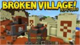 Minecraft Pocket Edition – Broken Village With Desert Temple & Mineshafts (1.0 MCPE Seed)