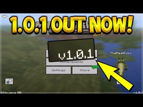 NEW MCPE 1.0.1 UPDATE RELEASED! – Minecraft Pocket Edition 1.0.1 Update OUT NOW (Pocket Edition)