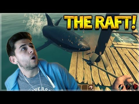 THE RAFT SURVIVAL GAME – STRANDED AT SEA SHARK ATTACK!