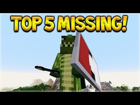 The TOP 5 Features Missing From Minecraft Console Edition TU46