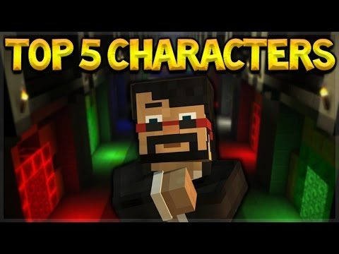 THE TOP 5 MOST LIKED CHARACTERS FROM THE MINECRAFT STORY MODE
