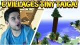 6 VILLAGES SEED! Minecraft Console TU48 Seed – Villages, Epic Terrain, Tiny Taiga & More!