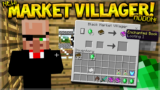 NEW BLACK MARKET VILLAGER!! Minecraft Pocket Edition Black Market Villager (MCPE Addon)