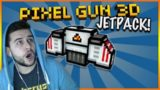 JETPACK UNLOCKED AND MOLOTOV COCKTAIL RAMPAGE! Pixel Gun 3d