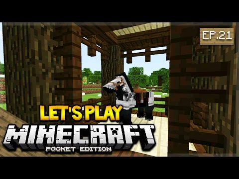 Let's Play Minecraft Pocket Edition 1.0.2 – PO's Pen Episode 21 (Pocket Edition)