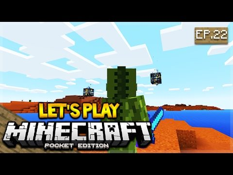 LIVE NOW – Let's Play Minecraft Pocket Edition 1.0.3 – Spawner Glitch! Episode 22 (Pocket Edition)