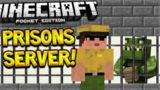 MCPE PRISONS SERVER! Minecraft Pocket Edition – Prisons Server, Quests, Trading (Pocket Edition)